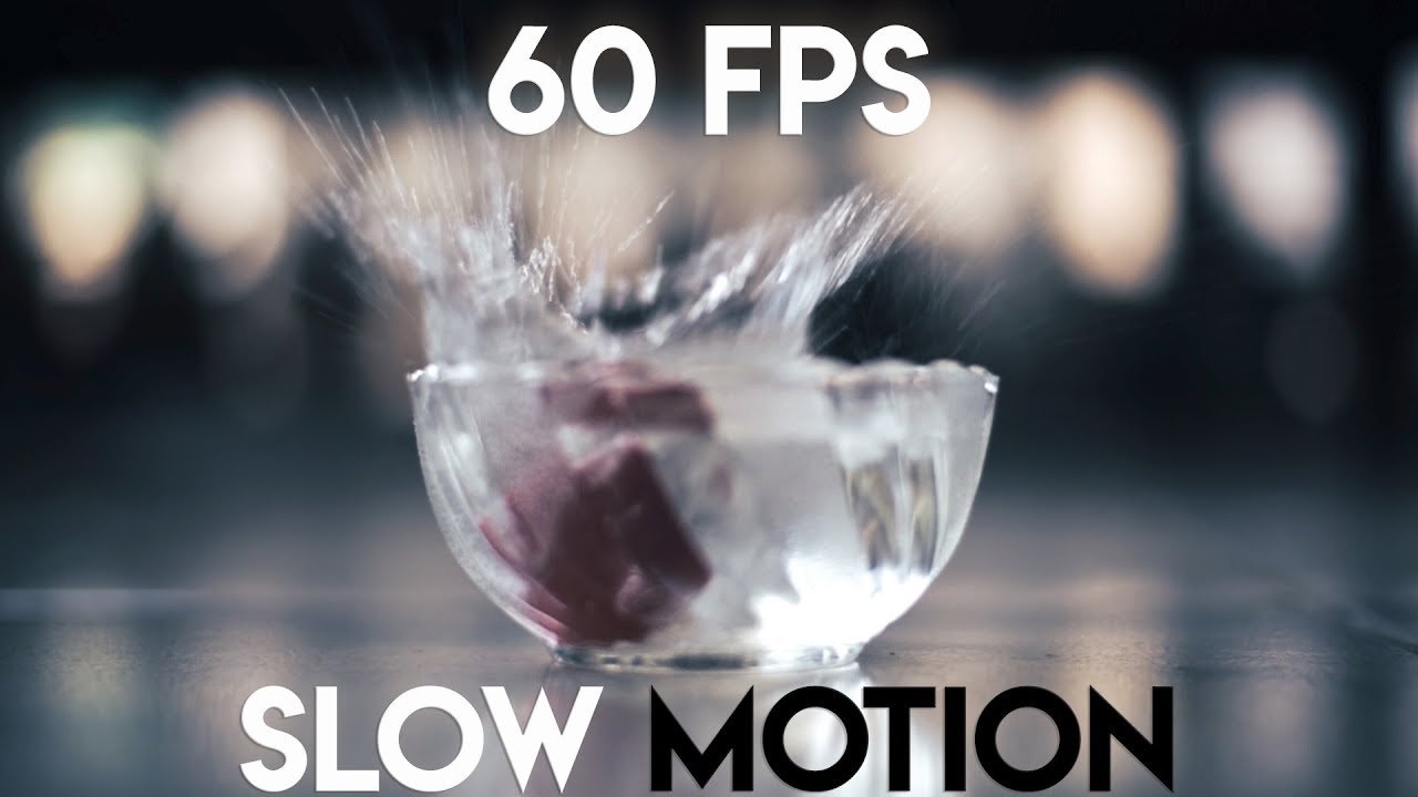 Slow Motion Cameras for make slow motion video style