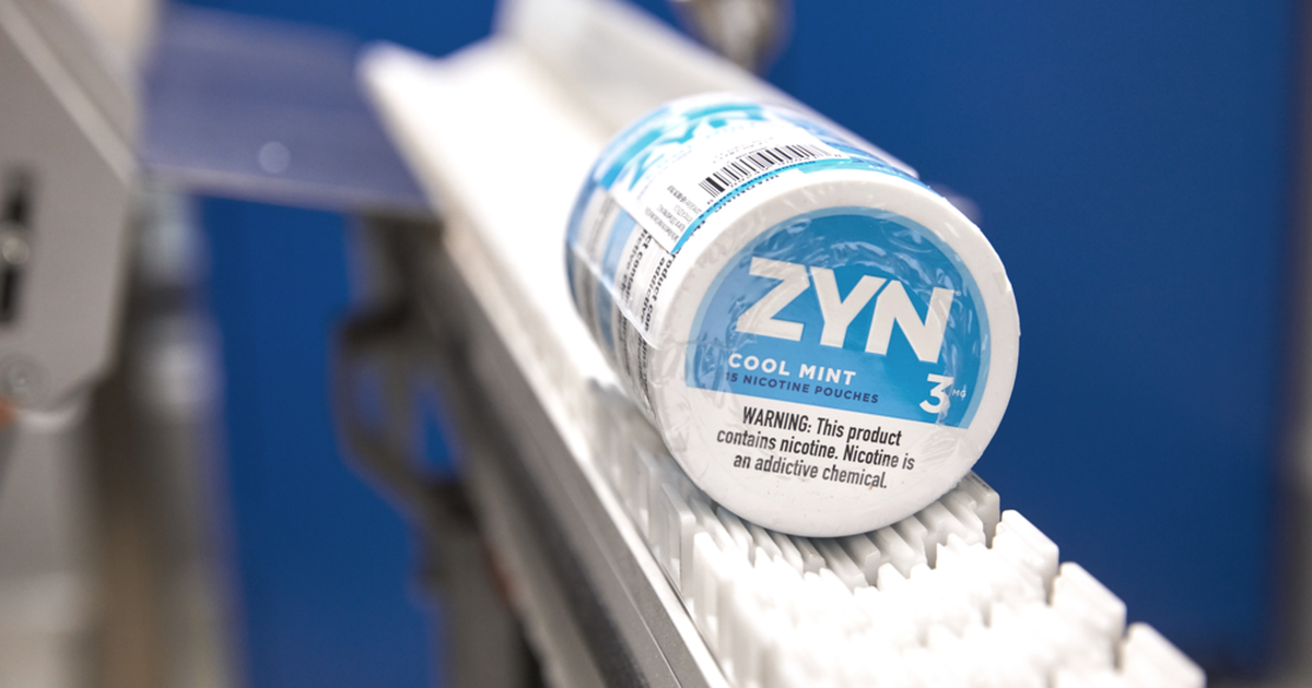 Switching To ZYN Nicotine Pouches